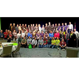 IUOE Members who attended 2018 Tradeswomen Build Nations Conference